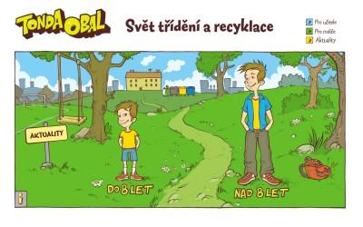 Svět třídění a recyklace
