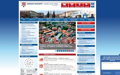 Nové internetové stránky města Uh. Hradiště – část 1.
