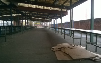Nová tvář městské tržnice u vlakového nádraží vUherském Hradišti