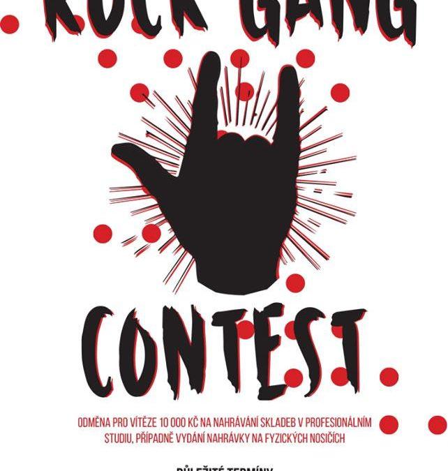 Rock Gang Contest: soutěž začínajících kapel