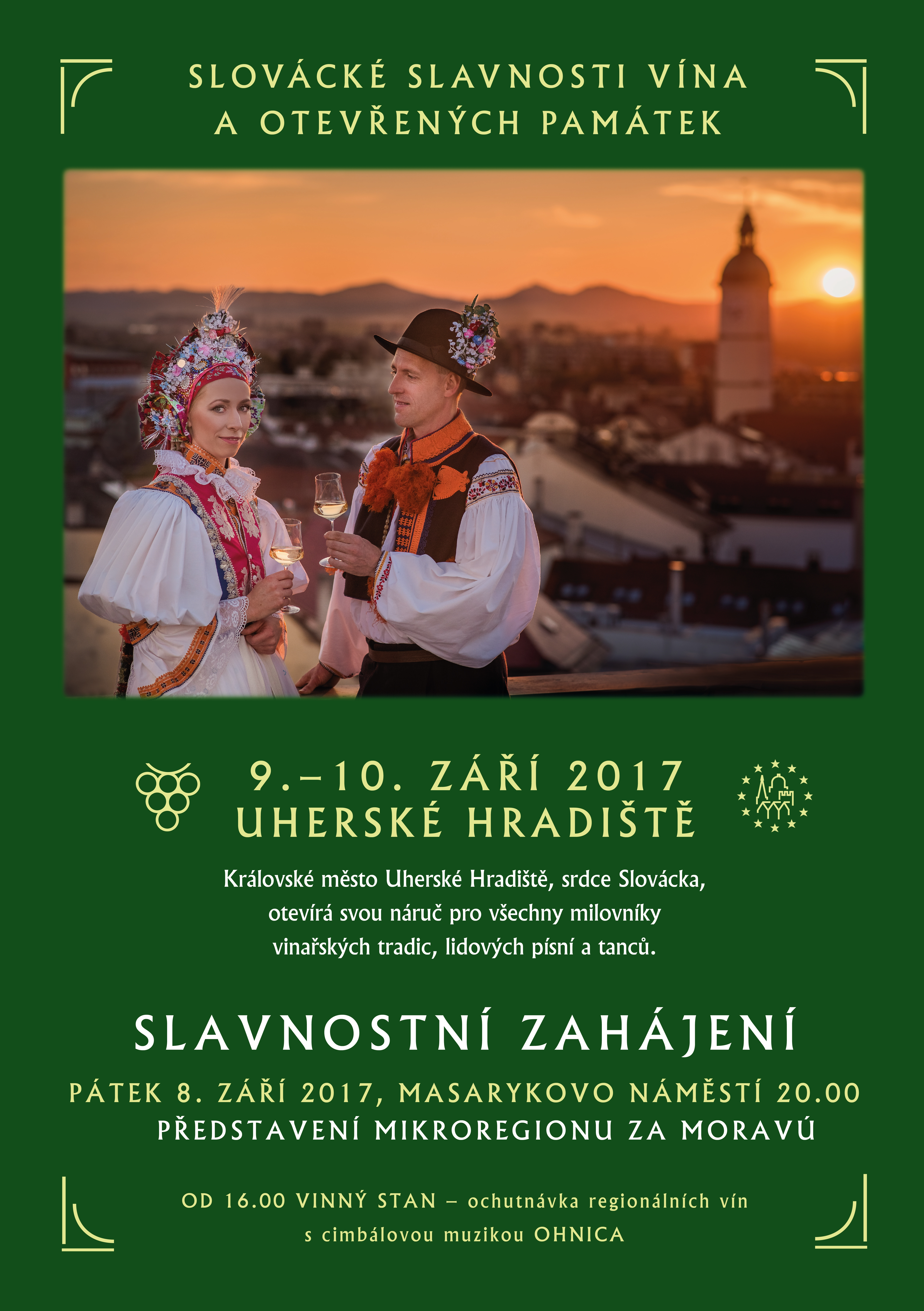 Slovácké slavnosti vína a otevřených památek 9.-10.září 2017