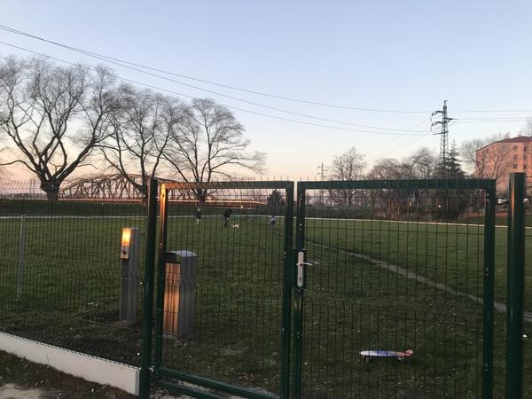 Máme vUherském Hradišti nové oplocené psí hřiště