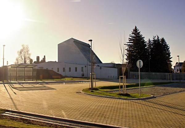 Parkování a úprava prostor u hřbitova vMařaticích – 1. Etapa