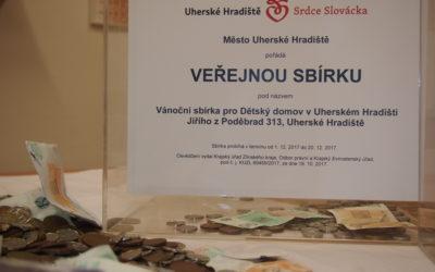 Tradiční vánoční sbírka vUherském Hradišti i letos odtajnila neskutečnou částku!