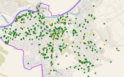 Občanům města je zpřístupněn nový geografický informační systém (GIS)