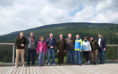 Výjezdní zasedání výboru ŽP do KRNAPU, témata – problematika kůrovce a vlků