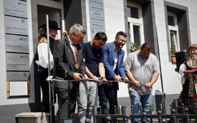 V obci Košíky se otevřelo nové komunitní centrum