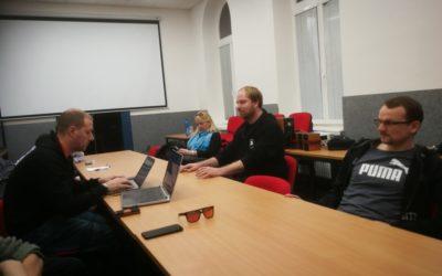 PRÁCE: Schůzka zastupitelů se členy komisí (Piráti)