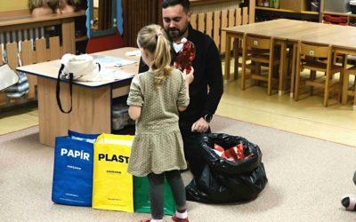RADOST: Slovácko třídí! Učím děti zmateřských škol třídit odpad