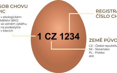 Označení vajec a co přesně znamená