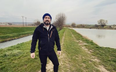 V měsíci dubnu jsem se aktivně zapojil do výzvy Deset tisíc kroků