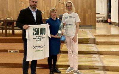 Již více než 250 tisíc českých občanů žádá poslaneckou sněmovnu o zavedení centralizovaného systému vratných záloh na PET lahve a plechovky vČeské republice.